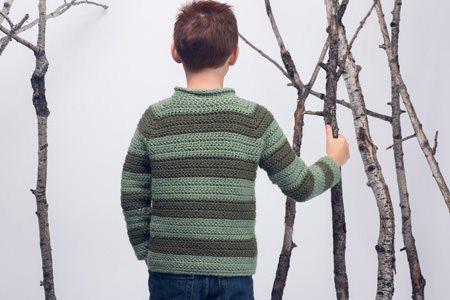 Rugger Sweater Back