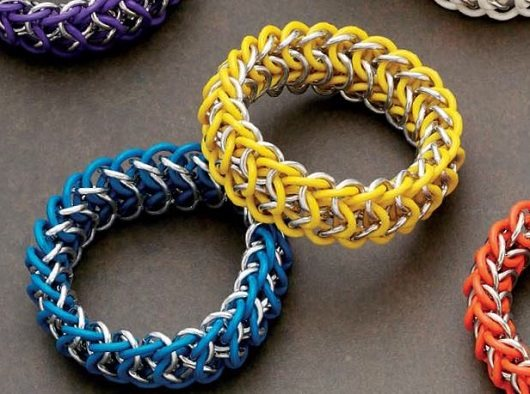 advanced chain maille weaves bracelets