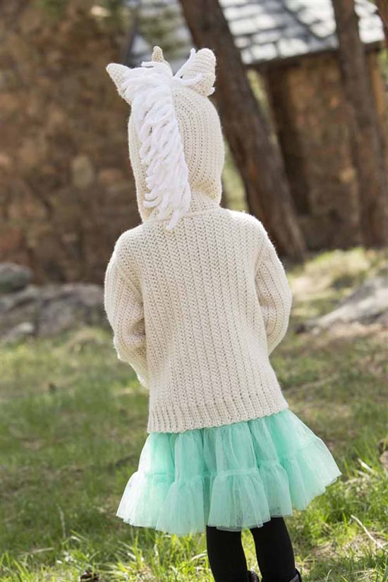Crochet Ever After: Unicorn Crochet Hoodie