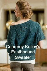 modern knitted gansey