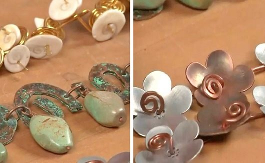 learn to make spiral metal and wire for jewelry making