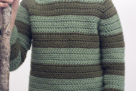 Rugger Sweater Close