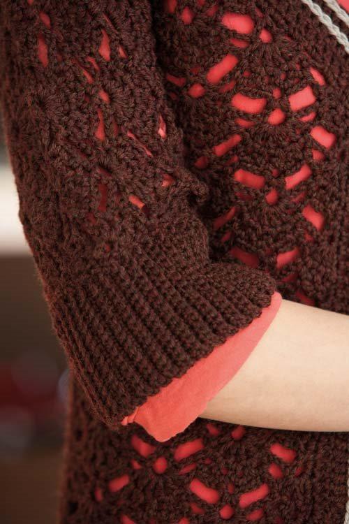 Blueprint Crochet Sweaters: Crochet Cardigan