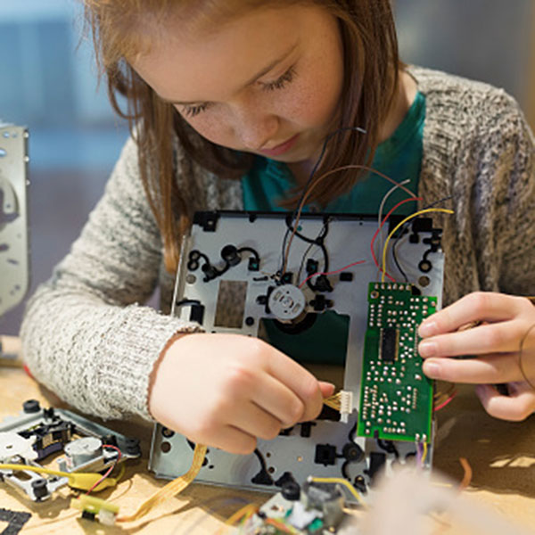 STEM involves problem solving and play. Photo courtesy of Getty Images.