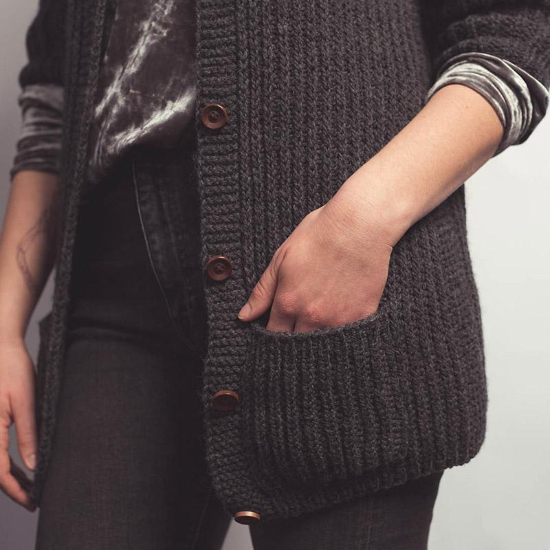 perfect cardigan pockets