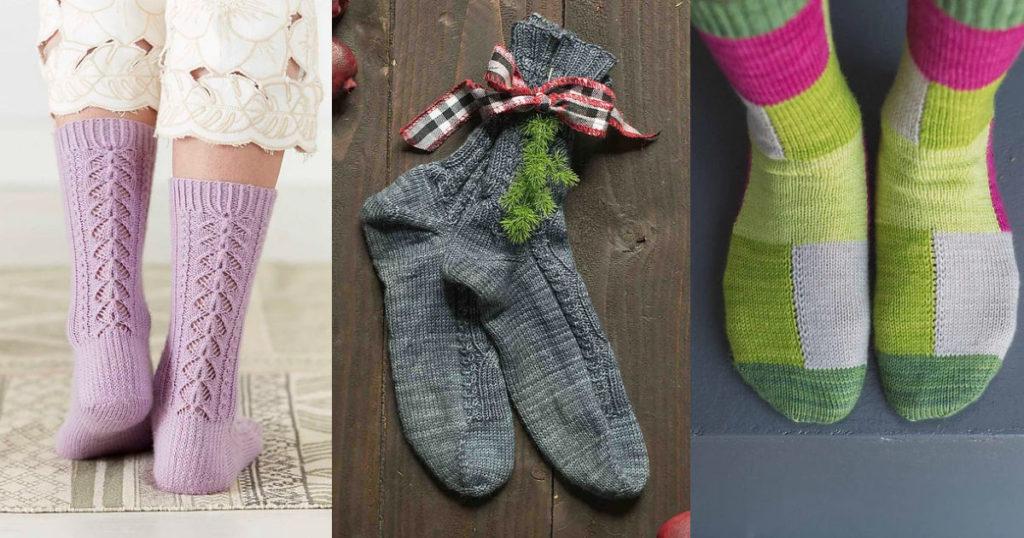 7 Sock Patterns for Bringing Socks-y Back