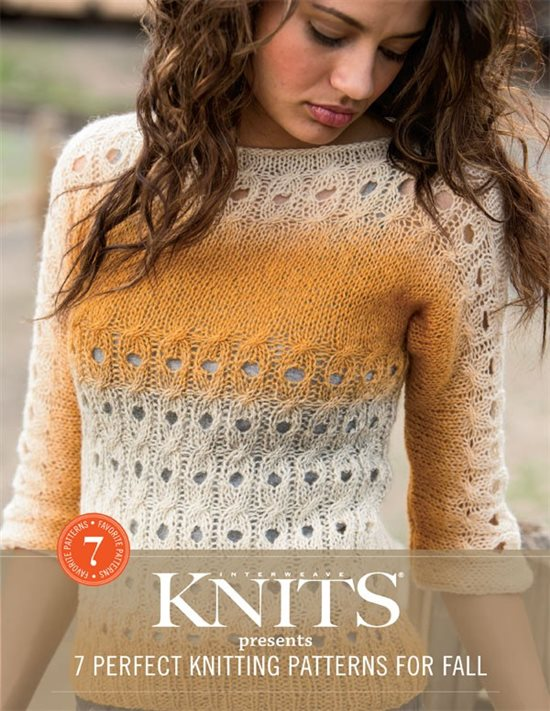Interweave Knits Presents 7 Perfect Knitting Patterns for Fall, a collection of cool knitting projects inspired by autumn