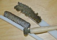 You'll need brass brushes to give the perfect finish after applying liver of sulfur to jewelry designs.