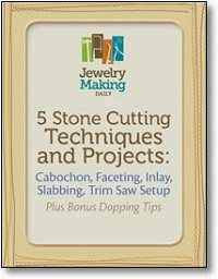 Learn everything you need to know about stone-cutting techniques in this FREE stone-cutting techniques eBook that goes through cabochon, faceting, inlay, slabbing, trim saw setup, and more!
