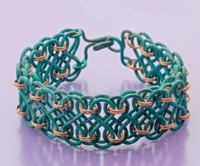 Julie Stratton's Captured Infinity bracelet