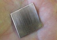 Finished, polish metal jewelry piece.