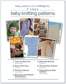 Patterns free download knitting ebook