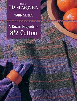 8/2 cotton is a wonderful yarn for weaving, but it can sometimes shrink. Here's how to predict how cotton handwovens will shrink.