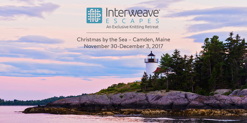 Escape to Camden, Maine for a Knitting Retreat with Norah Gaughan: Nov. 30 – Dec. 3, 2017