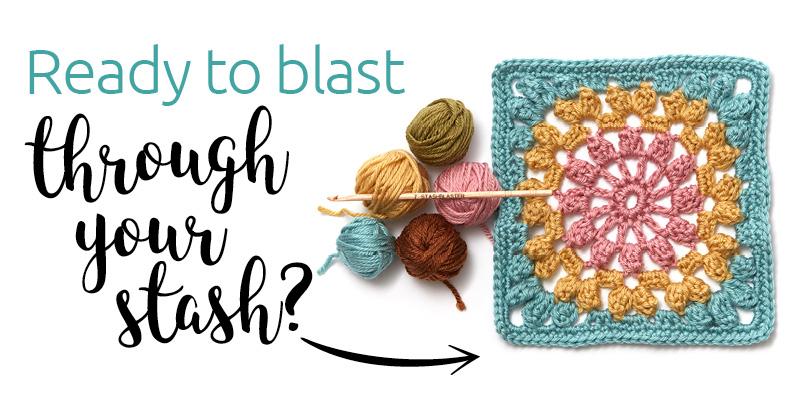 7 Tricks for Blasting Through Your Yarn Stash