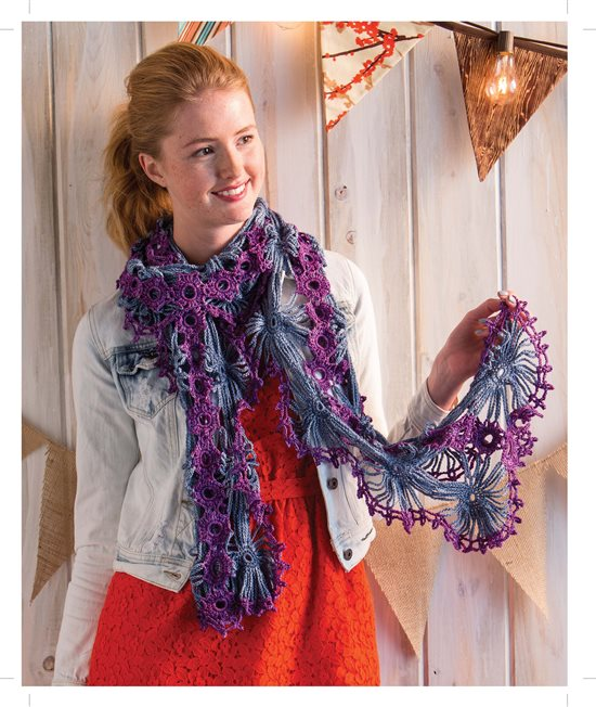 3 Skeins or Less: Crochet Wrap