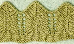 Knitted Lace Edgings You Need To Know Knitting Daily