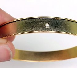 Make a Mixed-Media Bangle Bracelet: Wire, Cold Connections