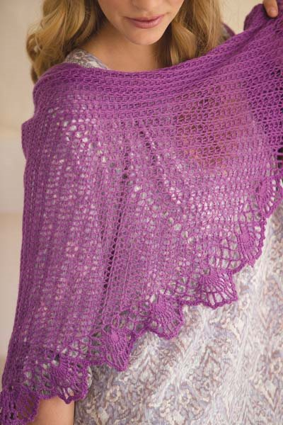 Crochet So Lovely: Crocheted Shawl