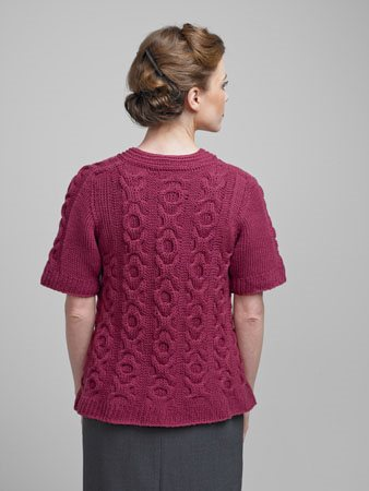 Serenity Sweater Back
