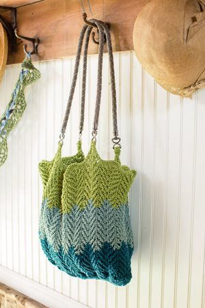 Cabled Ripples Tote
