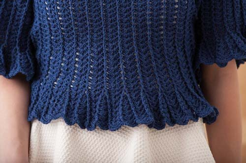 Blueprint Crochet Sweaters: Crochet Cropped Top
