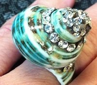 how to make a shell ring