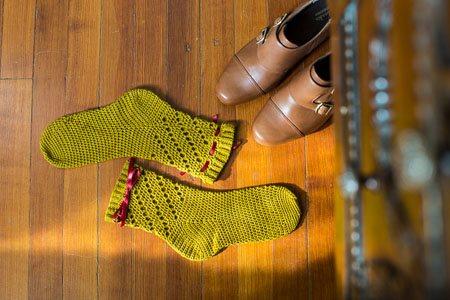 Twirl Socks Flat