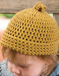 Basic Crochet Hat