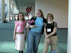 Cecily, Shannon, Amy