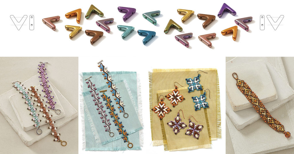 AVA beads shaped beads