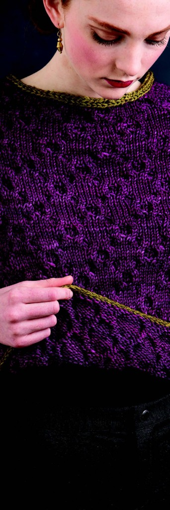 Ada pullover--it's actually a cable pattern!