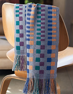 A Scarf Inspired by Anni Albers
