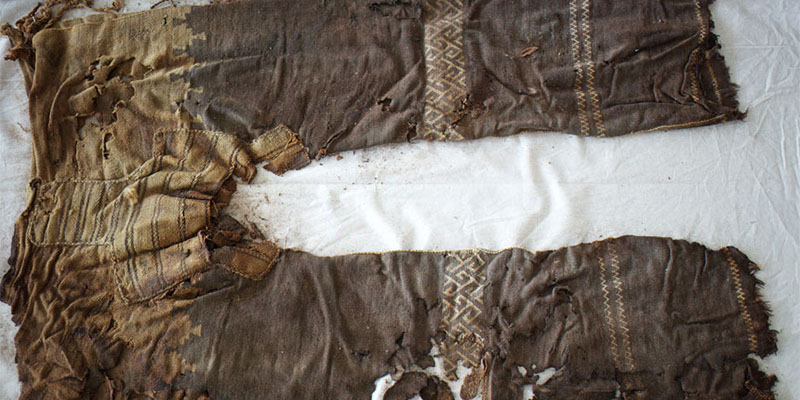 The oldest known pair of trousers. M. Wagner/German Archaeological Institute