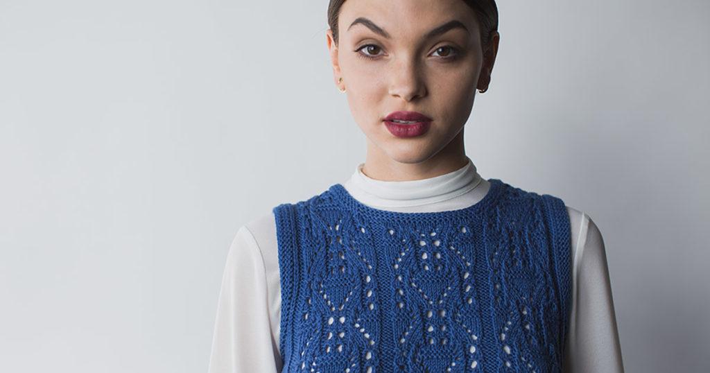 <em>knit.wear</em> Spring/Summer 2018: Andaman Top