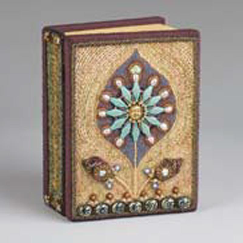 beaded book