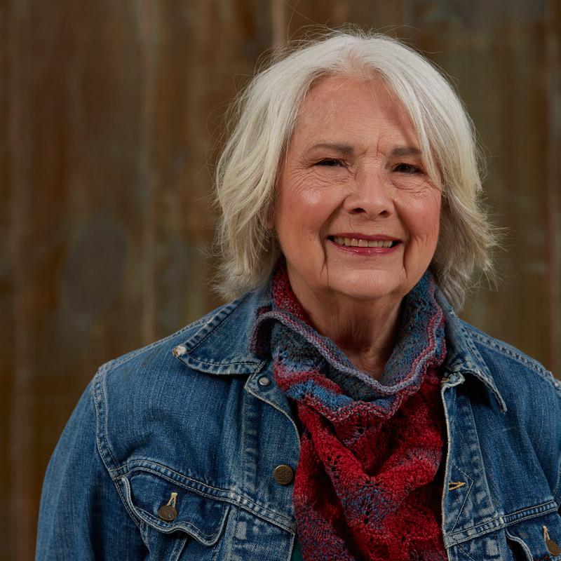 Linda Ligon, founder of Interweave