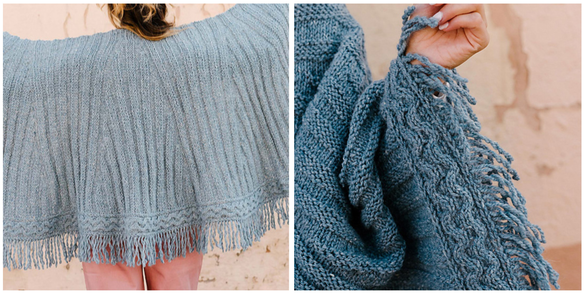 arced shawl