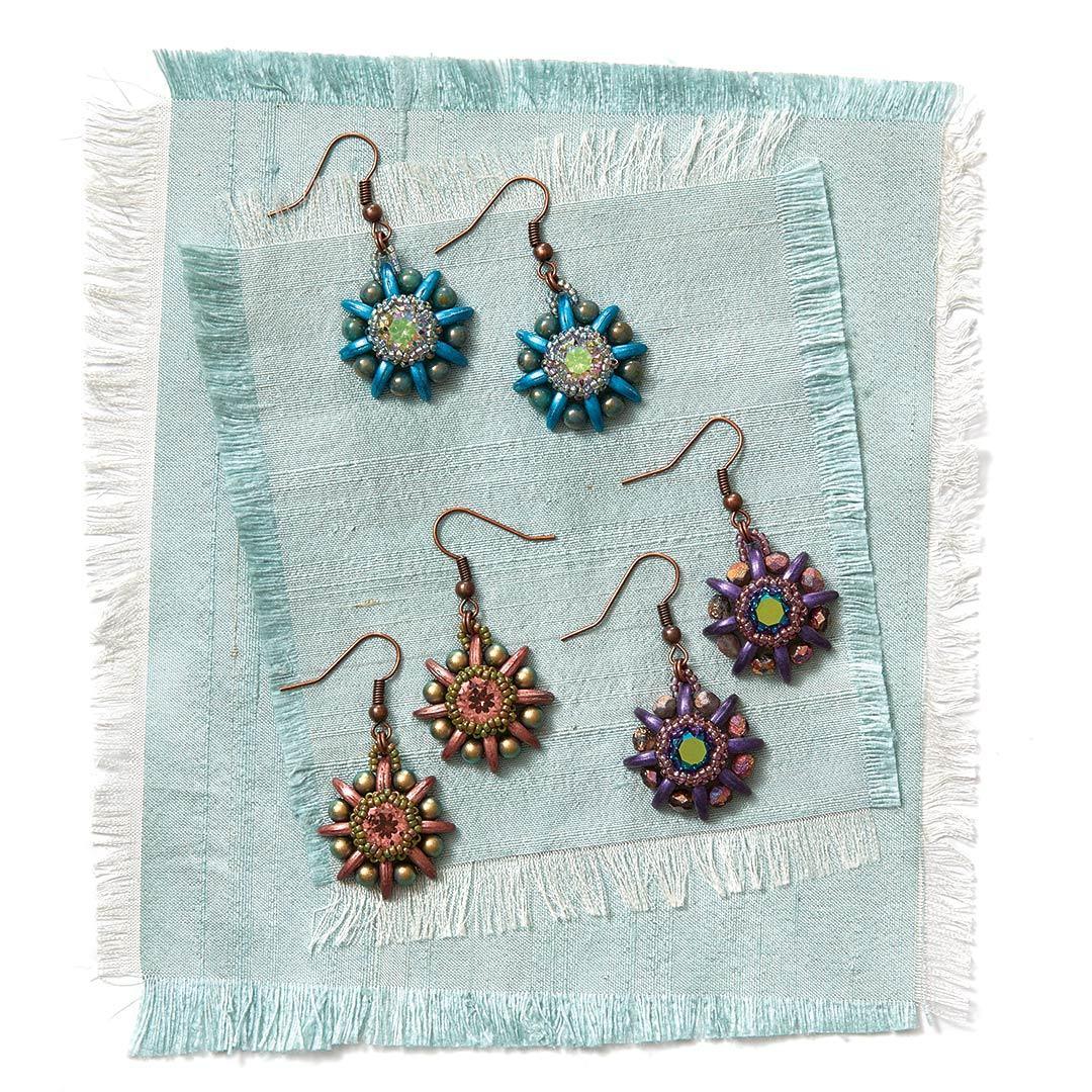 Jenny Argyle's Agave Rose Earrings