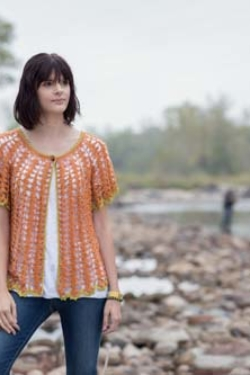 Arrowhead Cardigan Crochet Pattern