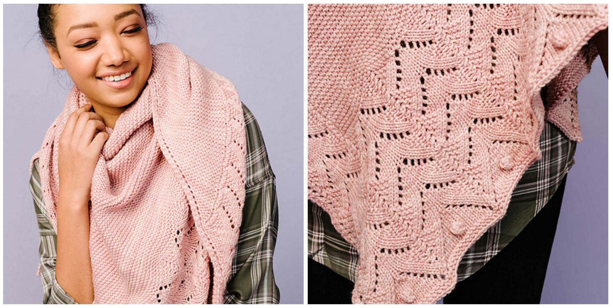 arrows shawl