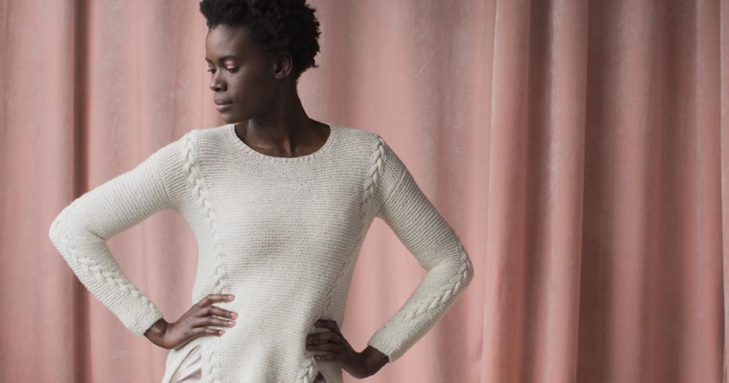 <em>knit.wear</em> Fall/Winter 2018: Aslant Pullover