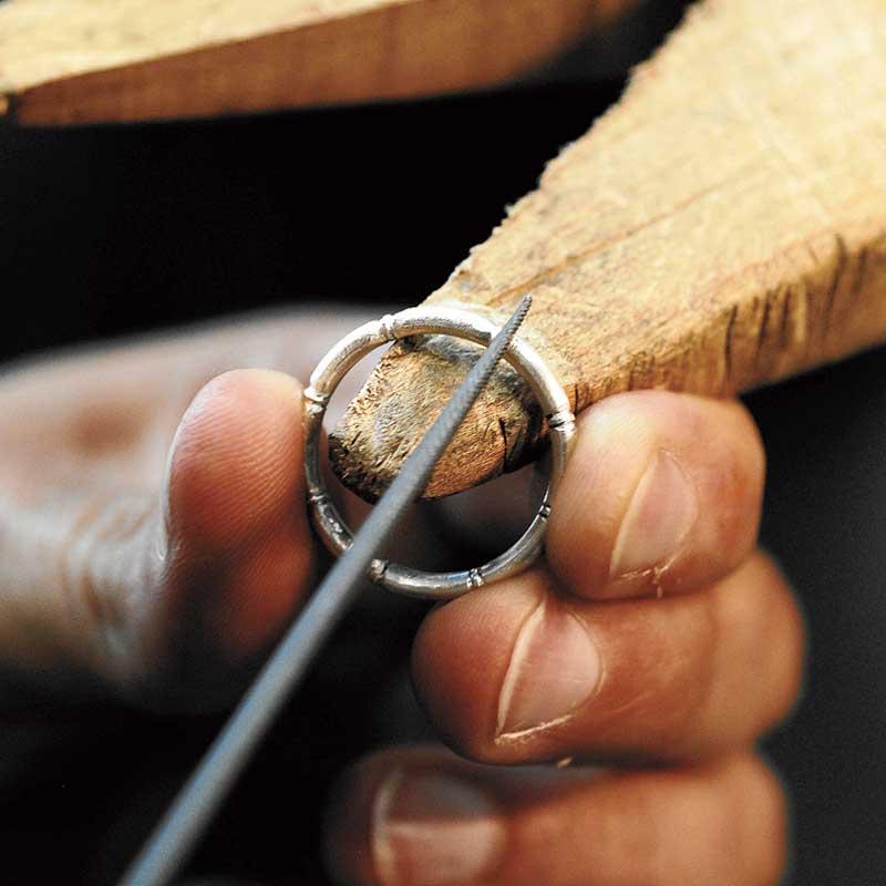Bamboo Handmade Ring Free project