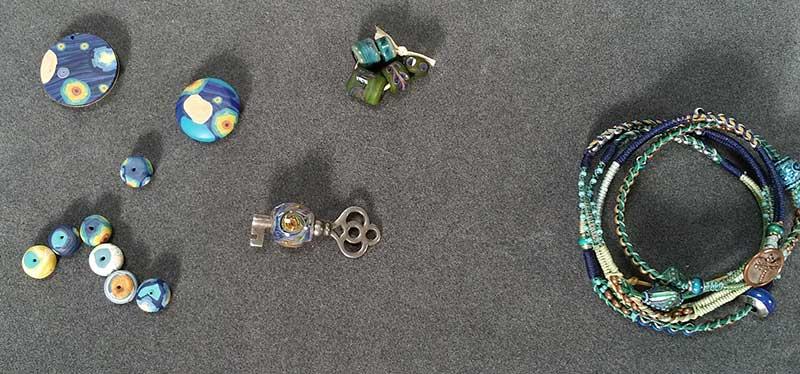 <em>Beads, Baubles & Jewels</em>: The Artist's Relationship with Color