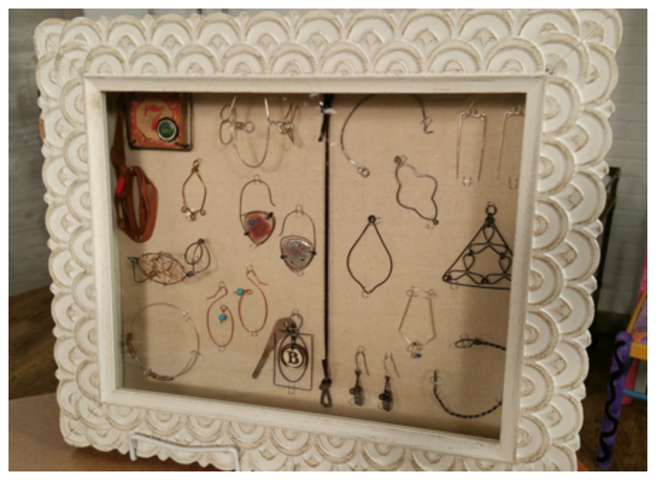 wire jewelry by Brenda Schweder from Beads, Baubles & Jewels