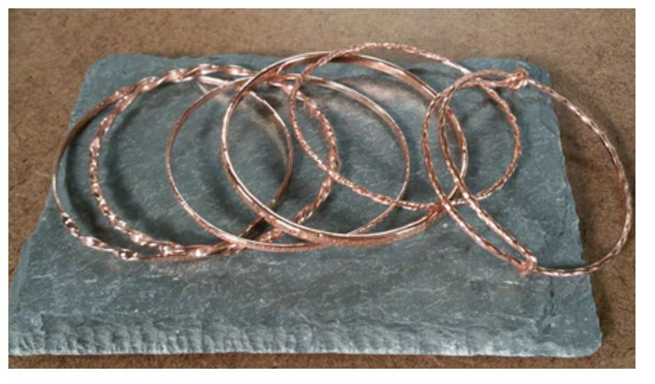 wire bangles from Beads, Baubles & Jewels