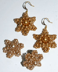 The Pair of Beaded Vintage Pearl Earrings projecct is not only antique-like but also a vintage earring pattern.