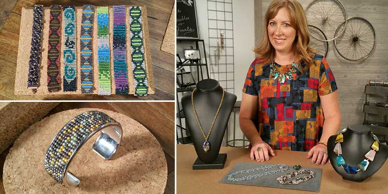 Beads, Baubles & Jewels Season 2600 episode 10, Katie Hacker and Tammy Honaman
