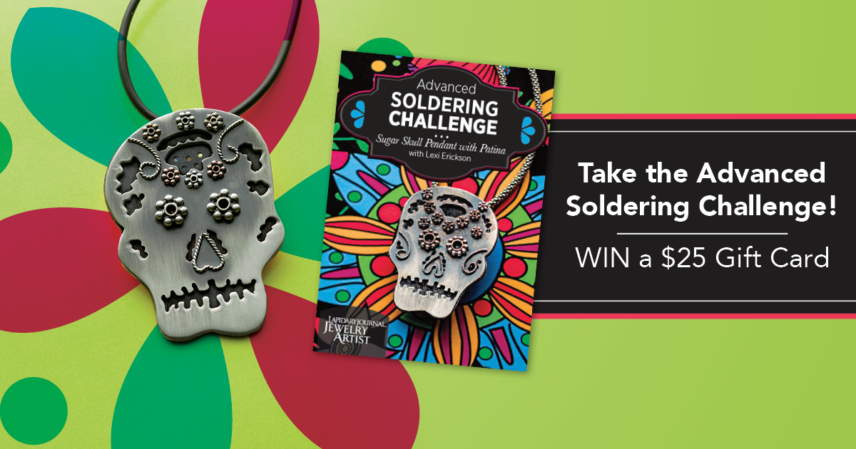 sugar skull soldering challenge