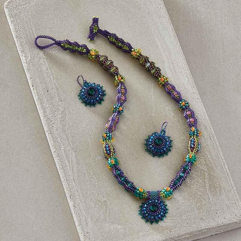 shaped beads: Hawaiian Dream by Wendy Ellsworth